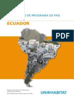 Documento de Programa de País 2008-2009 - Ecuador