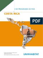 Documento de Programa de País 2008-2009 - Costa Rica
