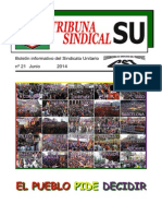 Tribuna Sindical Junio 2014