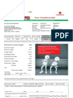 July 2009-Vodafone Bill