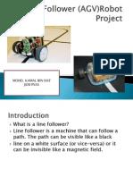 Line Follower Robot Project