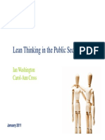 Lean in Public Services