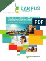 Campus Hungary brochure - Italian