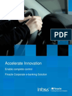 Accelerate Innovation With Finacle Corporate e-Banking