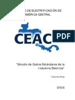 CEAC - Estudio de Costos Estándares de La Industria Eléctrica