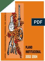 Plano Institucional 2002 2004