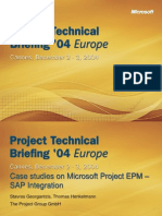 Case Studies EPM-SAP Integration PTB04 SG