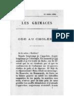 Octave Mirbeau, « Ode au choléra »