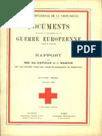 Rapport de MM. Ed. Naville et J. Martin sur leur seconde visite aux camps de prisonniers en Angleterre