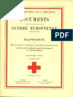 Rapports de MM. G. Addor, Dr F. Ferrière et Dr de Schulthess-Schindler sur leurs visites à quelques camps de prisonniers en Autriche-Hongrie
