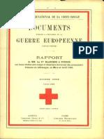 Rapport de MM. Les Drs Blancod et Speiser sur leurs visites aux camps et chantiers de travail des prisonniers français en Allemagne