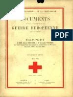 Rapport de MM. Alfred Boissier et Dr Adolphe Vischer sur leur inspection des camps de prisonniers en Turquie