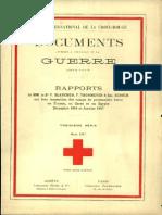 Rapports de MM. Le Dr F. Blanchod, F. Thormeyer et Em. Schoch sur leur inspection des camps de prisonniers turcs en France, en Corse et en Egypte