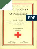 Rapport de M. le Dr René Guillermin sur sa visite aux prisonniers de guerre bulgares en France et en Corse