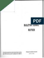 Buletin Tehnic Rutier 2012