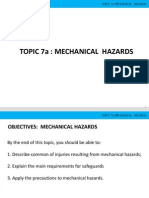 Mechanical Hazards