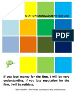 Reputation Management for Cxo