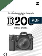 Nikon D200 Users Manual