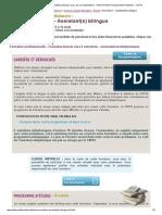 Formation Secrétaire - Assistant(e) Bilingue, Cours Par Correspondance - Centre Formation Enseignement à Distance - CNFDI