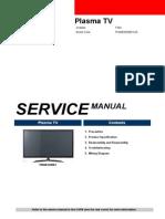 Samsung PN60E6500EF Service Manual