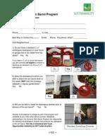 2014 Rain Barrel Application Files