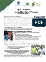 2014 Rain Barrel Information Sheet (2-Pages)