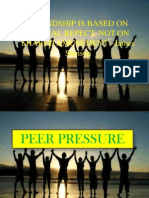 Peer Pressure POWER POINT PRESENTATION