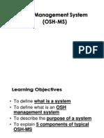 OSH Management System
