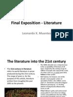 Final Exam Literature