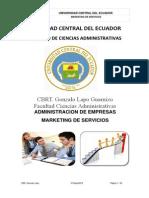 Marketing de Servicios Gonzalo Lapo