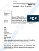 NBR 14788 - Valvulas De Esfera - Requisitos.pdf
