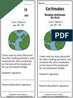 1 3 bookmark  earthquakes