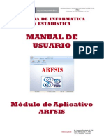 04 Manual Usuario Modulo ARFSIS Plataforma Desktop