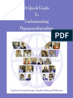 A Quick Guide to Hypoparathyroidism