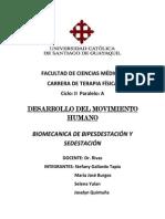 Expo de Desarrollo Bipedestación y Sedestación