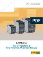 MO Contactors and RTO Thermal Overload Relays1