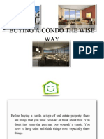Buying a Condo the Wise Way