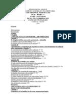 Instrumentum Laboris «Los Desafíos Pastorales de La Familia en El Contexto de La Evangelización» - III Asamblea General Extraordinaria - Sínodo de Los Obispos - 26-06-2014