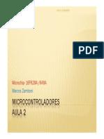 Microcontroladores Aula 2