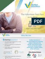 The Volunteer Fast-Pass Webinar