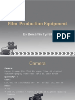 film  production equipment