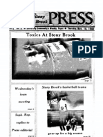 The Stony Brook Press - Volume 4, Issue 10