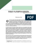 Modelosdesarrolloregional Teorias Factores Determinantes