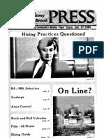 The Stony Brook Press - Volume 4, Issue 13
