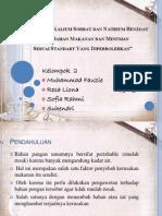 PPT_Penggunaan Kalium Sorbat Dan Natrium Benzoat