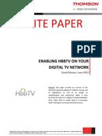 HBBTV Whitepaper