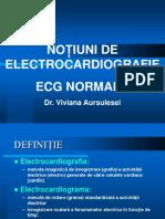 Ecg Normala Curs 2013