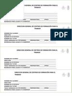 Direccion General de Centros de Formación Para El Trabajo