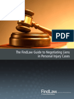 The FindLaw Guide to Negotiating Liens  in Personal Injury Cases