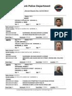 public arrest report for- 6272014